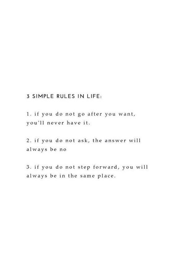 Take Inspiration In Your Career From These 3 Simple Rules Life