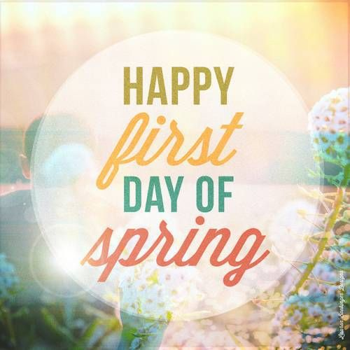 Spring Equinox 2016-- First day of Spring 2016