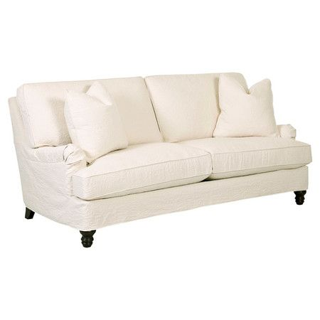 Brendan 88quot down blend sofa upholstery joss and main for Sectional sofa joss and main