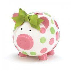 Cute Piggy Bank! My favourite piggy bank: http://www.helpmetosave.com/2012/02/piggy-bank/