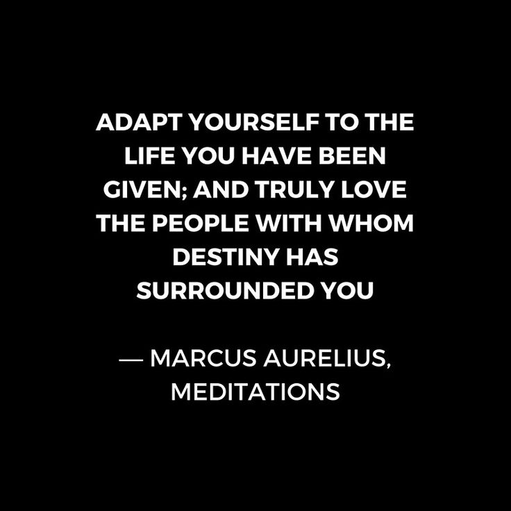 'Stoic Wisdom Quotes – Marcus Aurelius Meditations – Adapt yourself to the life you have been given' Art Print by IdeasForArtists