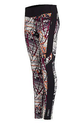 Large, Multi-Berry, Cheeki. Ly Athletics Ladies Tribeca leggings, Womens, Tribec