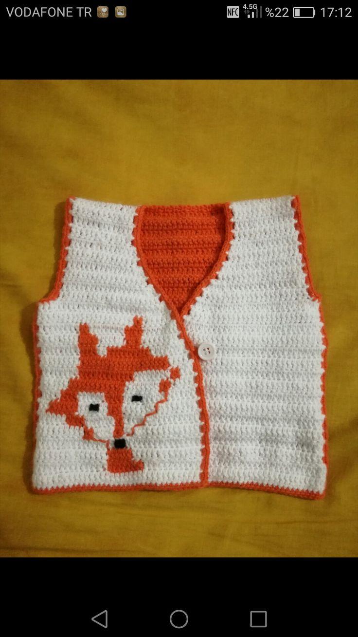 Fox pattern/ baby knitting