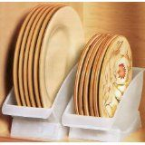 Plate holders for the cupboard to store plates upright and save space