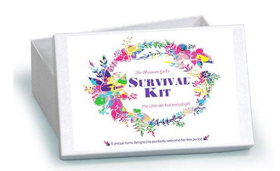 Blossom Girl's Survival Kit™ First Period by BlossomParties