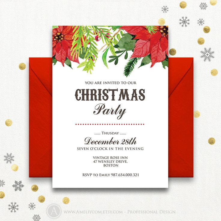 Cele mai bune 25+ de idei despre Christmas party invitation - corporate party invitation template