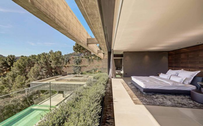 Modern two-storey Boscana villa in Son Vida, Mallorca features great panoramic views - CAANdesign | Architecture and home design blog