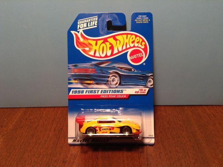 Hot Wheels Pikes Peak Celica #652 1998 First Editions Yellow 1994 Toyota #HotWheels #Toyota
