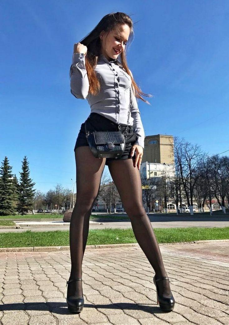 Девушки в колготках на улице (61 фото) in 2020 (With images)