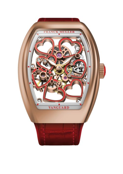 Franck Muller Vanguard Heart Watch for Valentine's Day or any day.