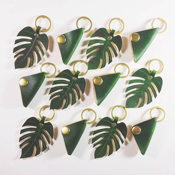 "How awesome are these Monstera leather keychains by @redherringsupplyco! Thanks for sharing with us: ""Our products reflect our passion to create things by hand. Every item is thoughtfully designed and carefully put together to ensure quality and uniqueness in every piece. We are proud of our goods simplicity and honesty as we passionately pour ourselves into the work making sure RHSCo's goods represent our love and commitment to the craft."" #makersmovement #wearethemakers by makersmovement"