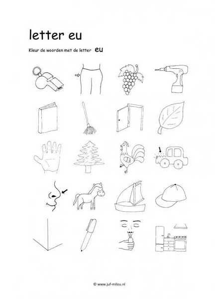 Taal - EU plaatjes zoeken