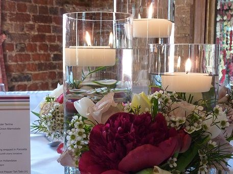 Candles by Arran Reflections Wedding Planners & Florists