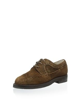 65% OFF Gallucci Kid's Lace Up Oxford (Marrone)