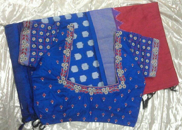 1000+ Images About Blouses On Pinterest | Hindus Blouse Designs And Saree Blouse Patterns