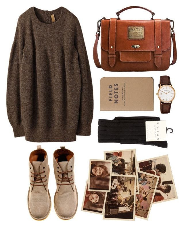 """Untitled"" by hanaglatison ❤ liked on Polyvore featuring мода, ADAM, Iliann Loeb, Jack Wills, Falke и Frédérique Constant"