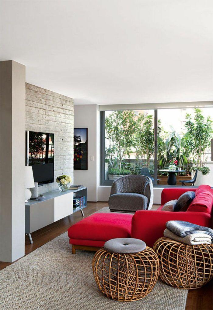 1001 Ideen Zum Thema Welche Farbe Passt Zu Rot Haus Deko Dekor Aussenmobel