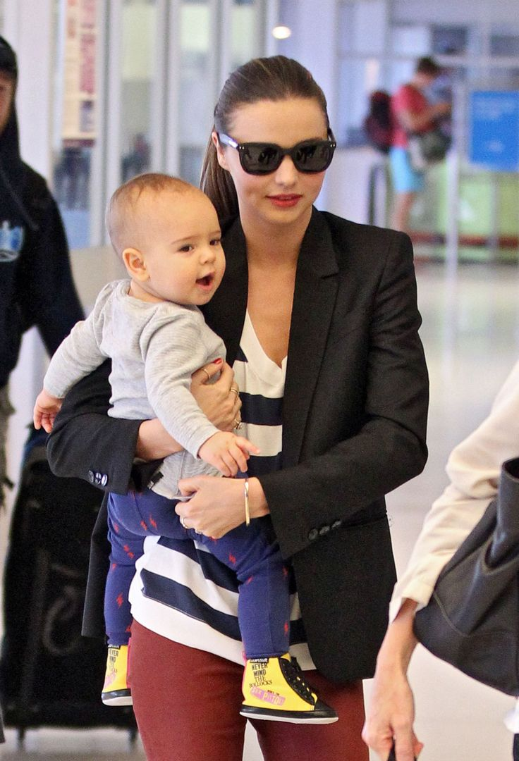 Harper Beckham and Miranda Kerr's son Flynn took the honors for names, while Jenny McCarthy was recognized as your pick for tweeting mama in Lil's roundup of 2011's celebrity  #Celebrity #mom #Mirandakerr #baby #celebs #celebritymom