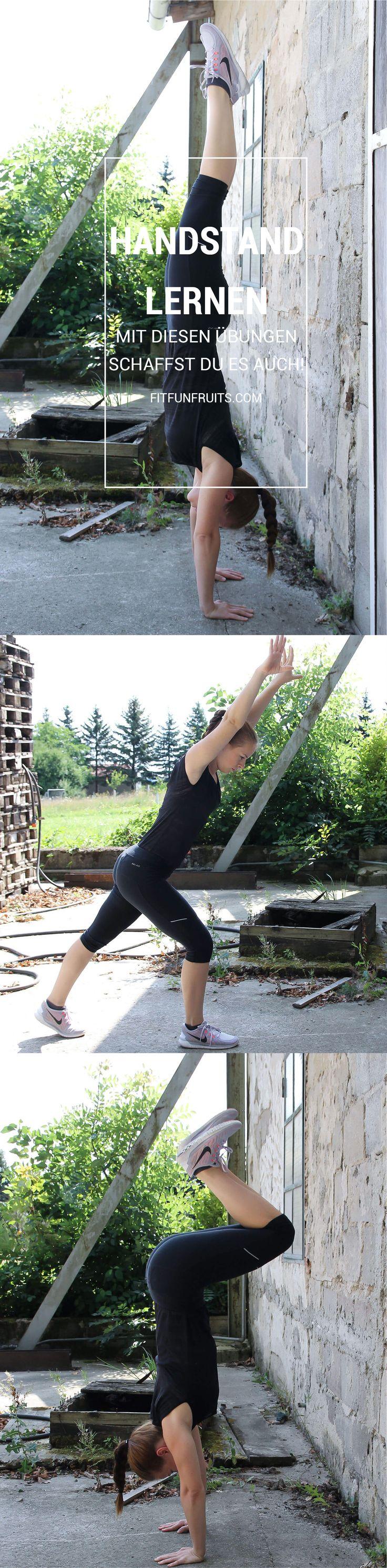 Handstand lernen - so einfach war es noch nie. Mit diesen Übungen schaffst du es auch!