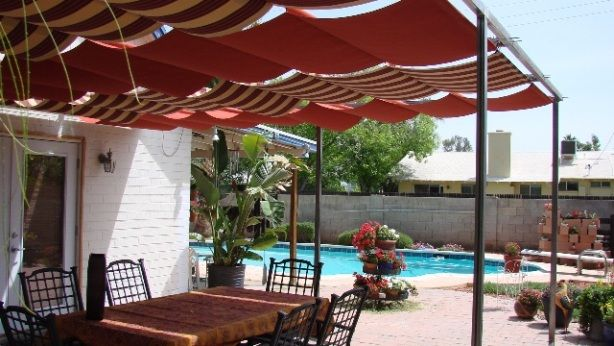 Patio Shade Structure Ideas