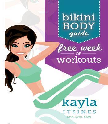 Free Week of Bikini Body Workouts from Kayla Itsines!!!