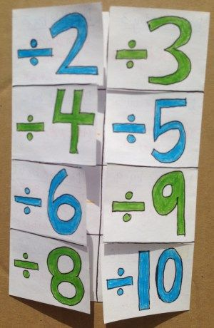 Divisibility Rules Foldable