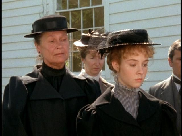 Anne of Green Gables...Marilla & Anne at Matthew's funeral.