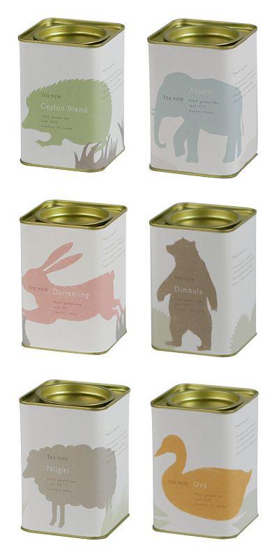 Animozi'tea. #packaging