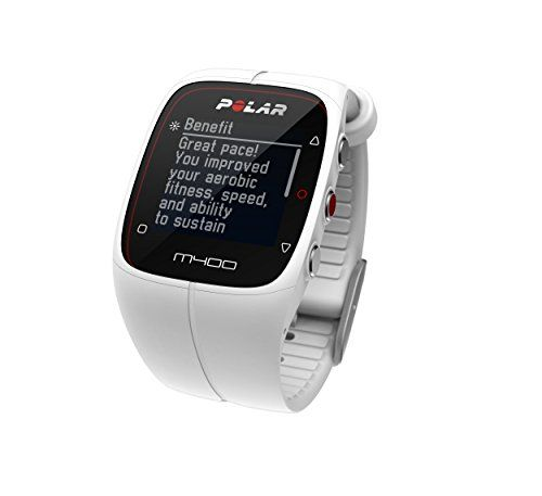 Polar M400 GPS Sports Watch with Heart Rate Monitor, Black