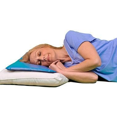 Eliminate the need to flip over your pillow in search of a cool spot by using the soothing, cooling comfort of the Chillow® Cooling Pillow. Cool relief is available on-the-go or at home simply by filling the pillow with water.