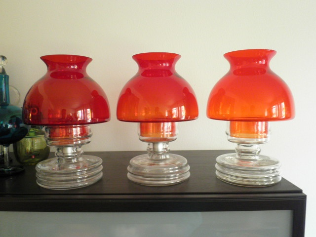 My three Apollo Lantern by Nanny Still, designed 1970. Two on the right are for sale, if interested :)