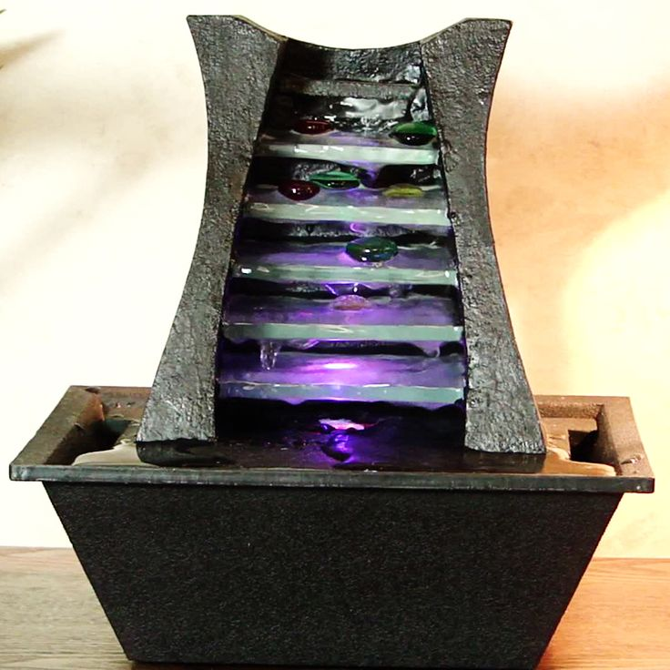This Easy To Install Countertop Water Feature Fountain Is Licable For Any Environment Come See