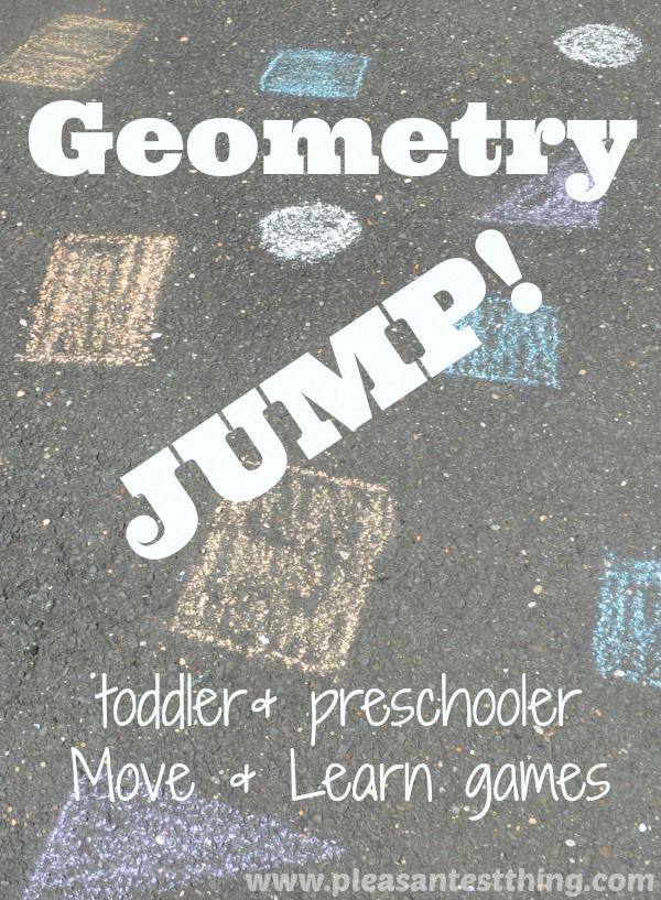Geometry Jump: Move and Learn Shape Games from The Pleasantest Thing