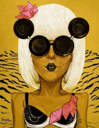 Lady Gaga par Risamarie