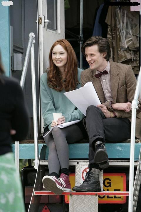 Doctor Who Dr Who Matt Smith Karen Gillan Amy Pond