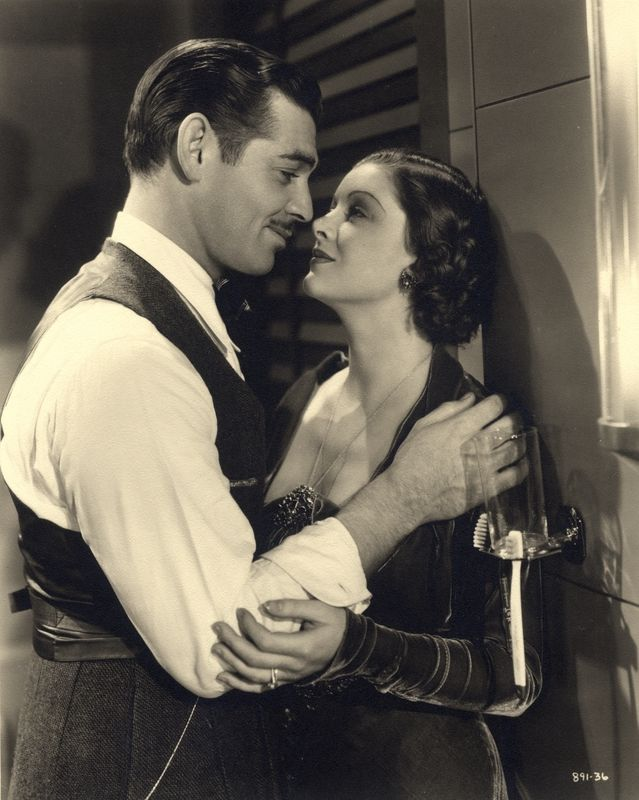 Wife vs Secretary - Clark Gable and Myrna Loy