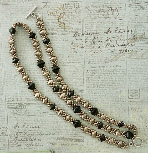 Linda's Crafty Inspirations: More Beading News - New DiamonDuo beads