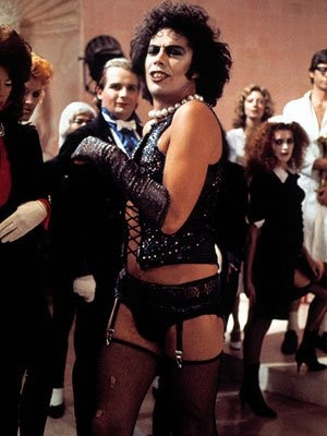 The Rocky Horror Picture Show (1975)  Tim Curry as Dr.Frank-N-Furter  Planet: Transsexual  Galaxy: Transylvania