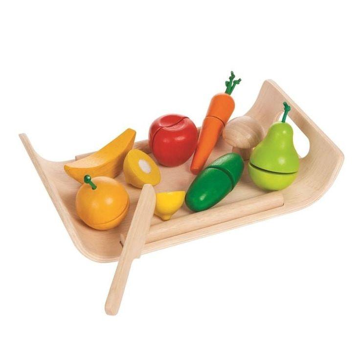 Plantoys Obst & Gemüse online kaufen | KidsWoodLove