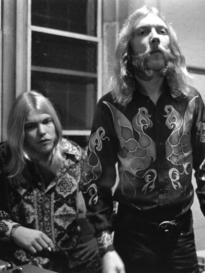 Gregg & Duane Allman.  Other than my father, who was a professional trumpeter, these two influenced my music more than anyone else.