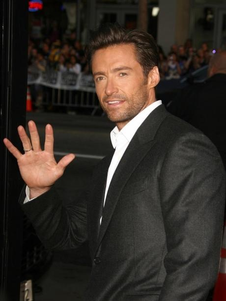 Hugh Jackman.  I can't think of a single reason why I don't like this guy... smart, funny, singer, dancer, actor, tall, dark, handsome, fit, accent, oh the list could go on and on.