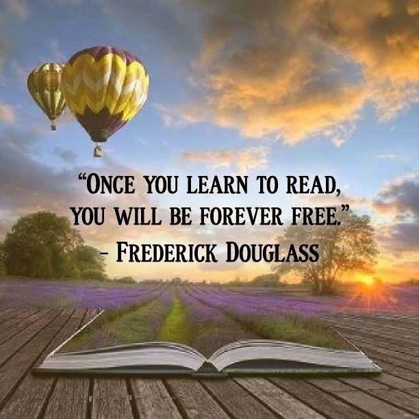 Yes, even those who have little fiscally can be free to imagine beyond their wildest dreams thru books.