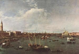 Bacino di San Marco (St Mark's Basin) 1738-40  (Giovanni Antonio Canal) Canaletto