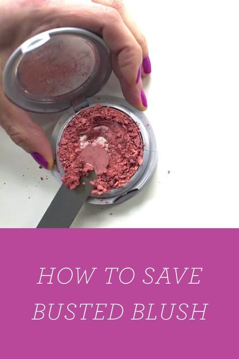 How did they know I just dropped mine on the floor and it is broken big time. How to Fix a Broken Makeup Compact via @PureWow