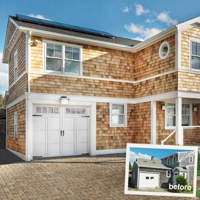 159 best images about before and after exterior makeovers for Garage addition cost