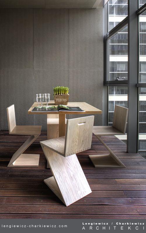 Apartament pokazowy. Projekt i realizacja: lengiewicz-charkiewicz.com (fotografia: Aleksander Rutkowski)