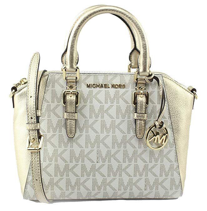 4805ee23093edb Amazon.com: Michael Kors Ciara Medium Signature Messenger Bag in  Brown/Electric Blue/Pink/Red/White/Silver #Womenspurses #purses #handbags  #fashion ...