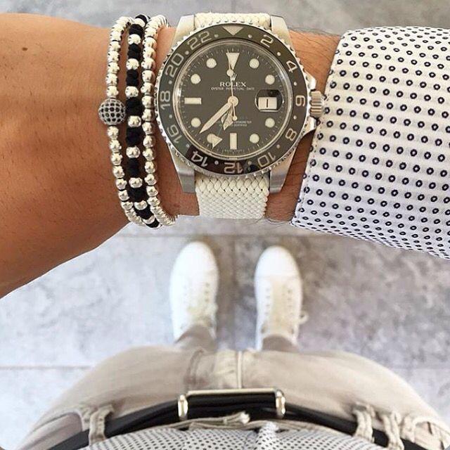 ⌚️⬜️☑️ via @mensfashion.watch  #worldsuniquedesigns #design #watch #bracelet #manswatch #rolex #mansrolex #white #mansbracelet #fashion #mansfashion #fashionpost #likelikelike #likepost #loveit #watchpost #watches #fashionlove #designlove #casual #casuallife #casuallifestyle #styling #stylish #mansstyle