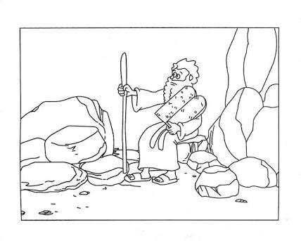 ten commandments coloring printables pages
