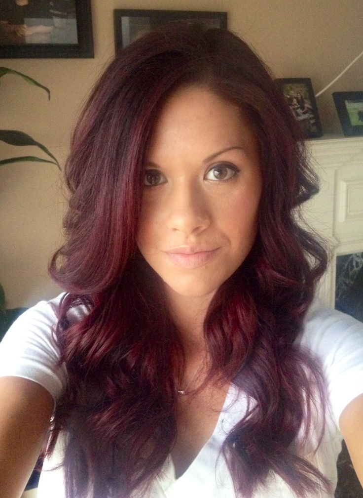 Red violet hair | Hair and Beauty | Pinterest | Love this ...